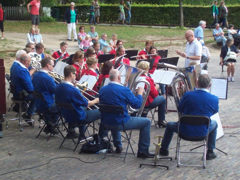 Openluchtmuseum Arnhem 2013 aspiranten orkest