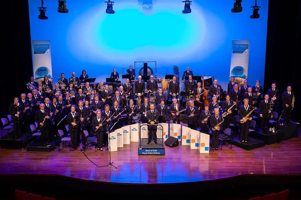 KLM orkest is muzikale gast