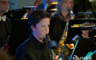 Harmonie Katwijk spetterend een nieuw muzikaal jaar in