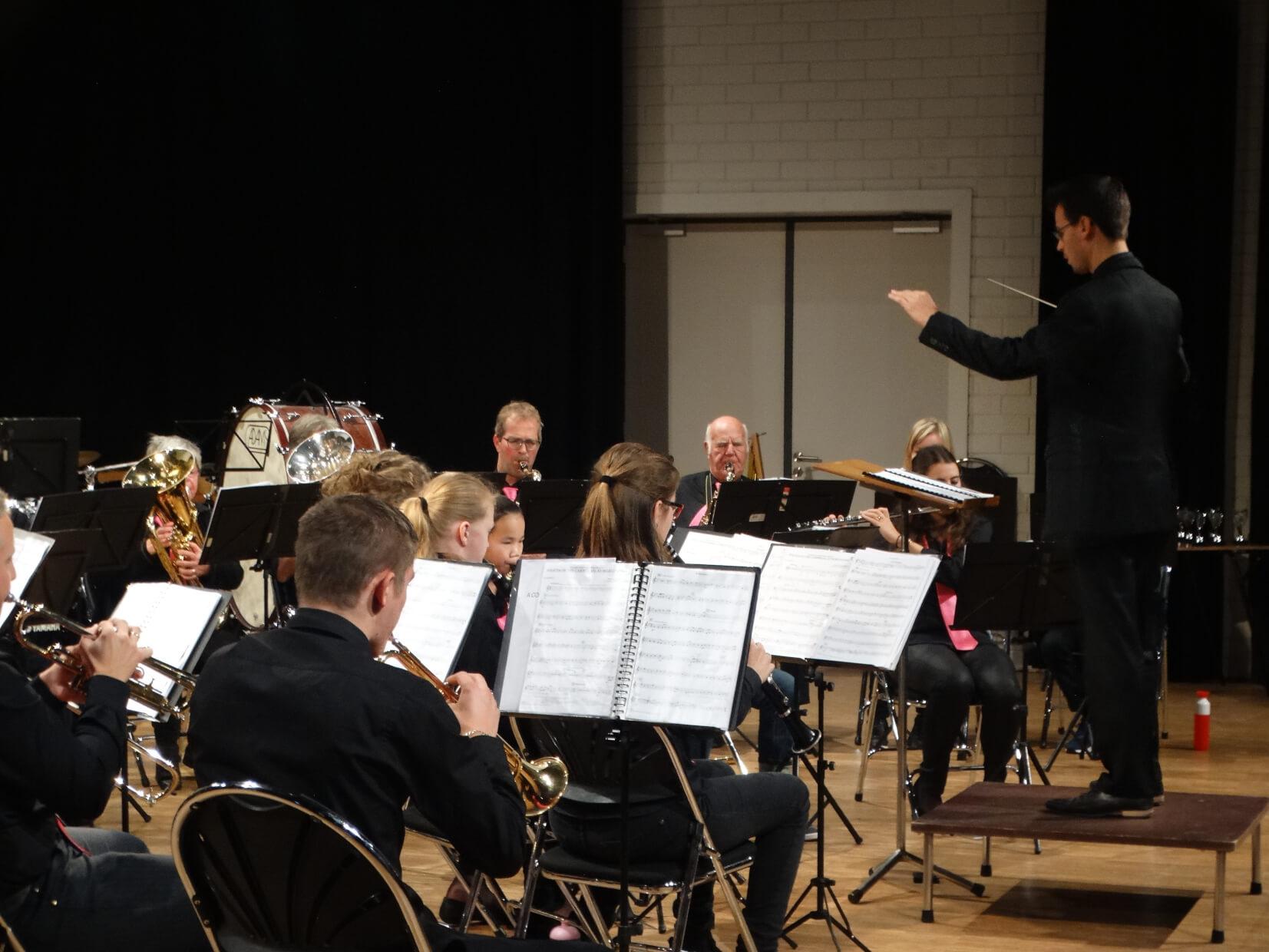 Aspirantenorkest op het SastiVal 2016