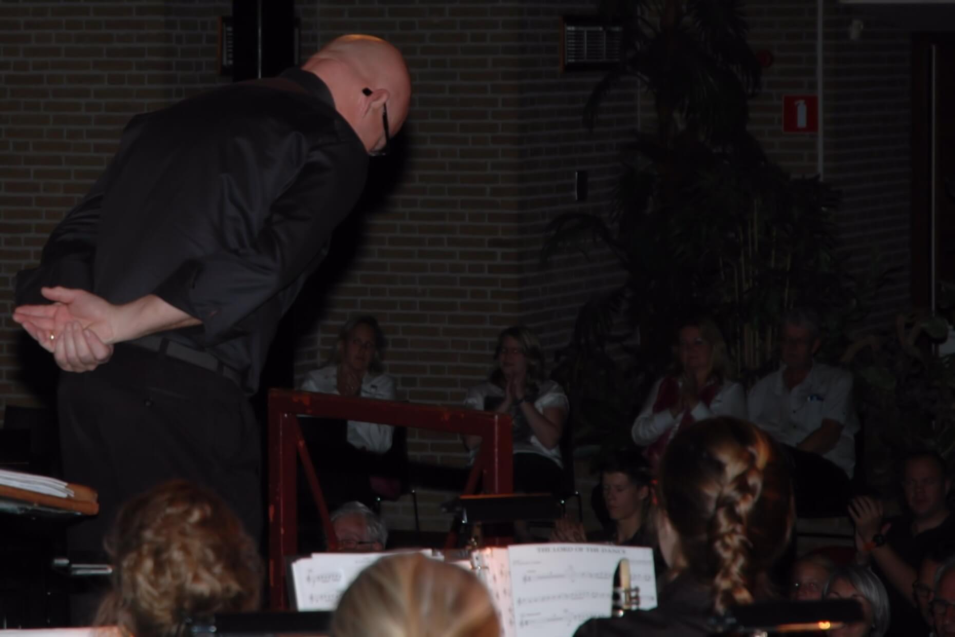 afscheid dirigent aspirantenorkest Wilco van den Oever