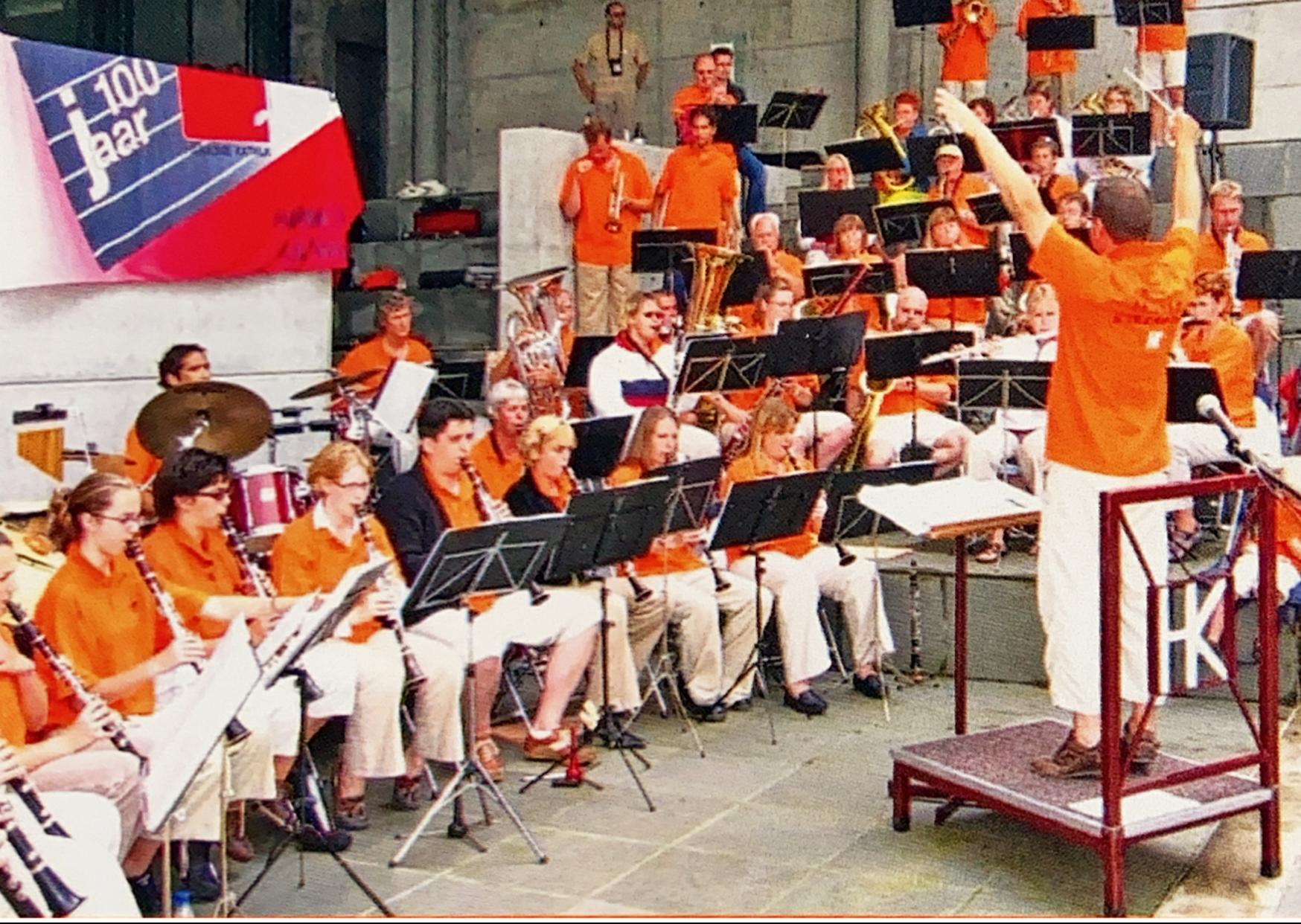 Harmonie Katwijk in Frankrijk
