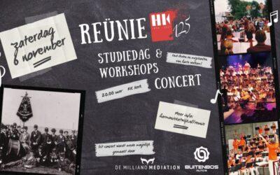 Harmonie Katwijk start jubileumjaar met reünieconcert