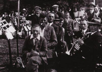 Gezelligheid Oranjefeesten in 1950