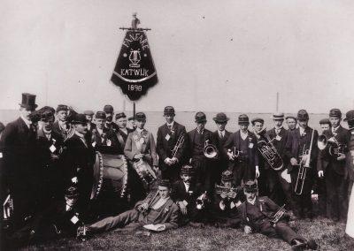 Harmonie Katwijk rond 1900