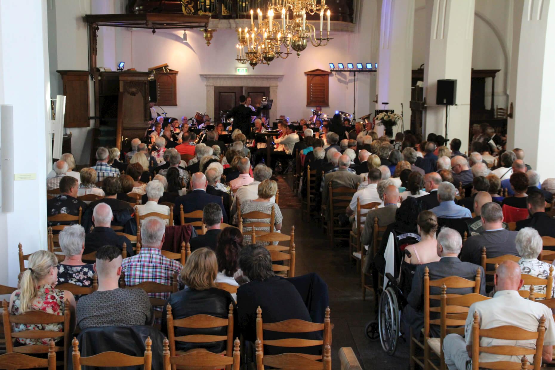 Veteranenconcert dorpskerk Katwijk