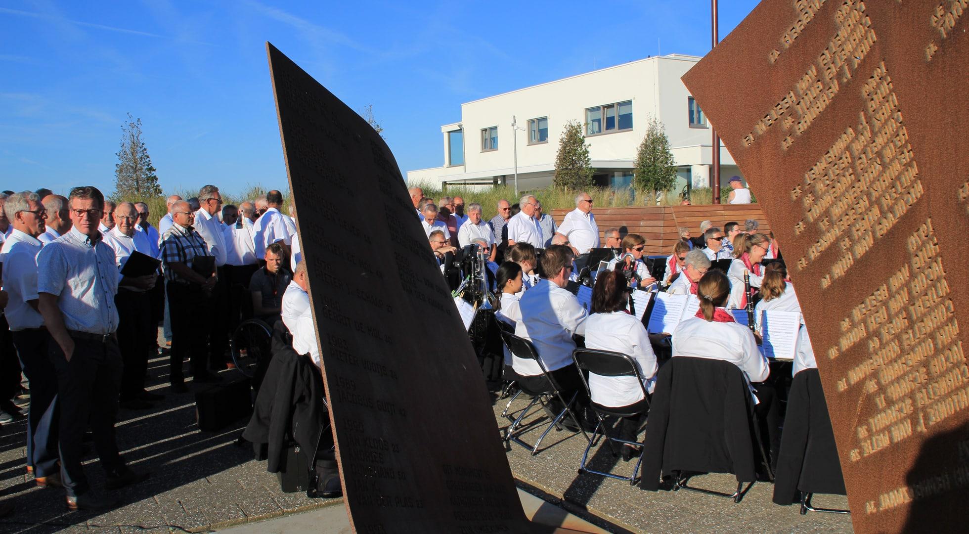 herdenking omgekomen vissers Katwijk-2018