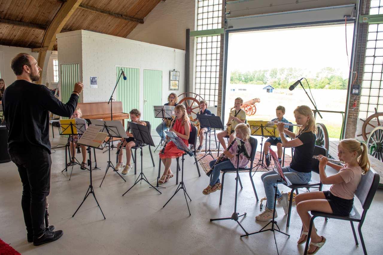 Kleine Harmonie orkestklas