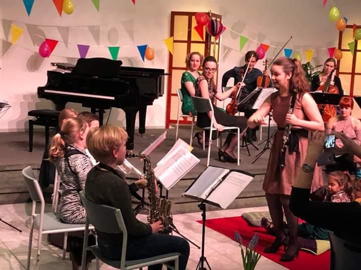 Eerste optreden Kleine Harmonie