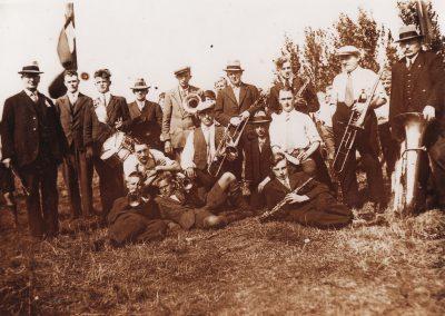 1935 Tijdens de Oranjefeesten Katwijk aan den Rijn