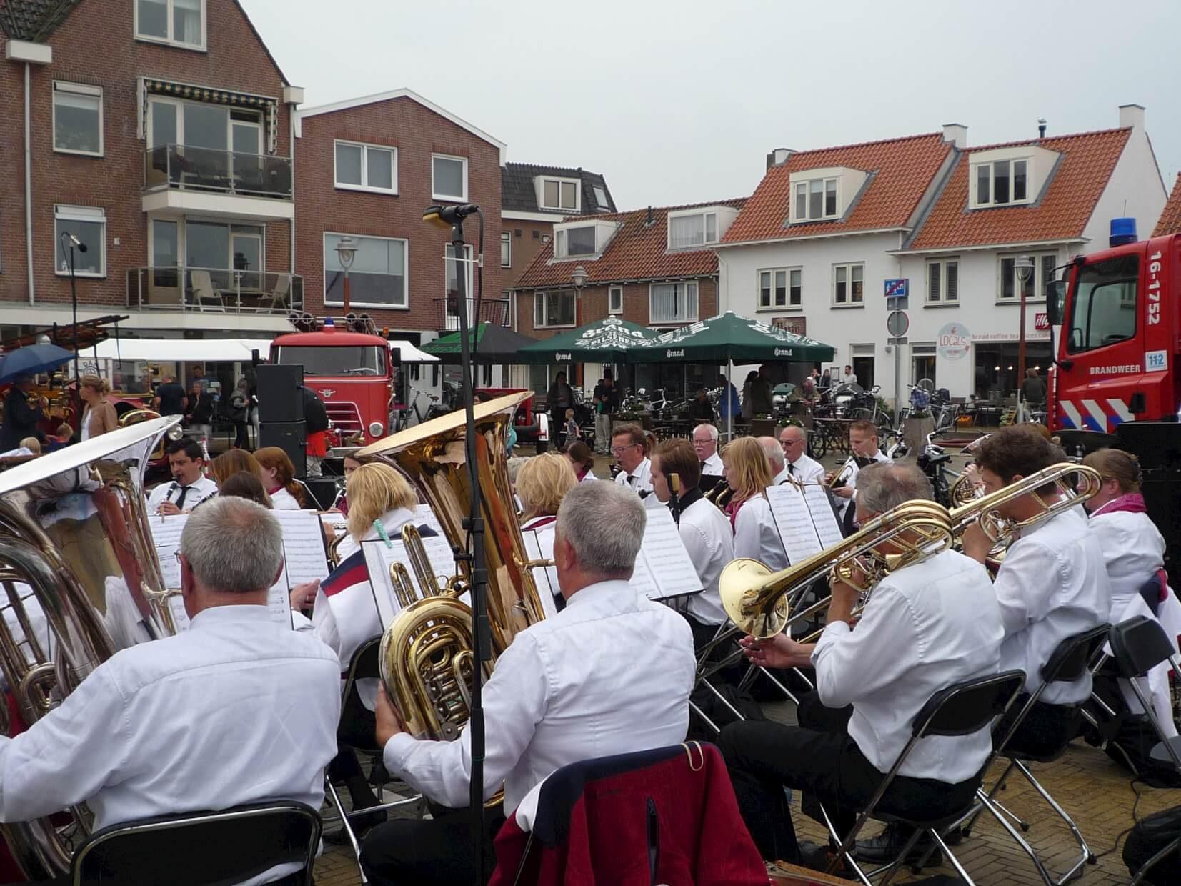 concert Andreasplein Katwijk
