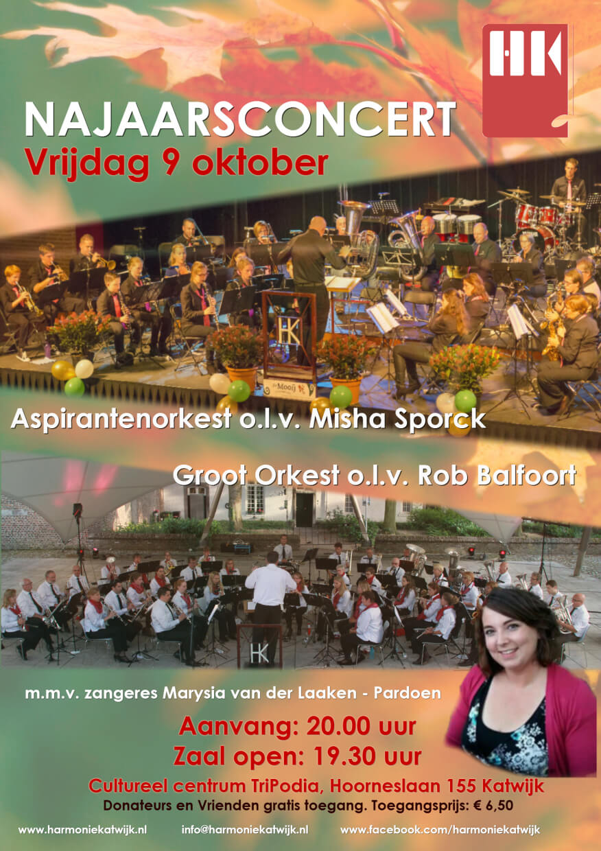 Poster Najaarsconcert