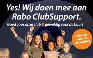 Rabo ClubSupport: Kunnen wij op uw stem rekenen?