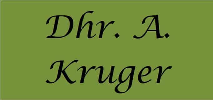 Dhr. A. Kruger
