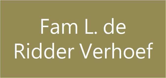 Familie L. de Ridder-Verhoef