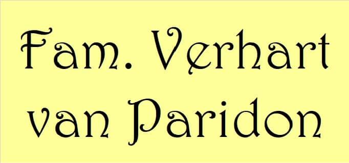 Familie Verhart-van Paridon