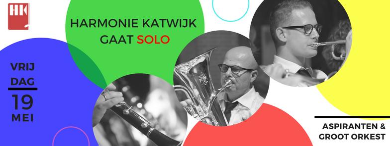Voorjaarsconcert 'Harmonie Katwijk gaat solo'