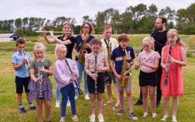 Muzikale start IkToon Katwijk met de Kleine Harmonie