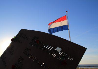 Herdenking 'op zee gebleven'