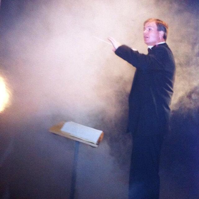 Dirigent Wilco van den Oever