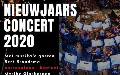 Muzikale start van 2020 door Harmonie Katwijk