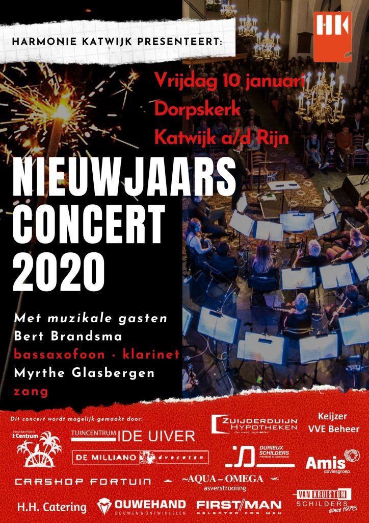 poster nieuwjaarsconcert