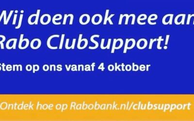 Stem op ons voor Rabo Club Support 2021
